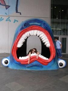 Barcelona Aquarium Jaws