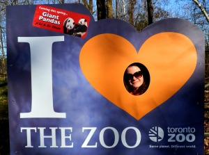 I love the zoo
