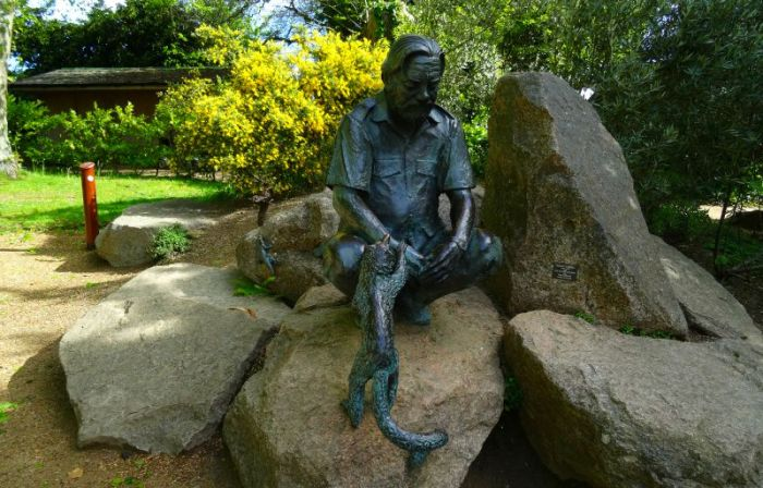 Gerald Durrell statue